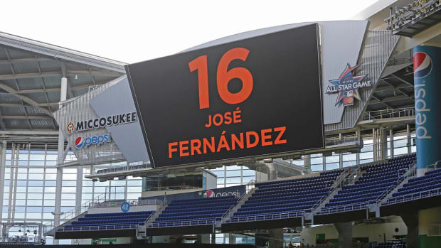 Marlins teammates, coaches remember Jose Fernandez - IMAGE