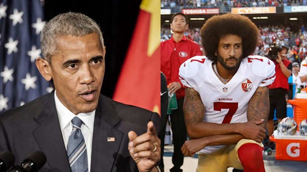 President Obama shows support for Colin Kaepernick - IMAGE