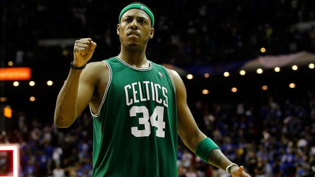 Paul Pierce will retire a Boston Celtic IMAGE