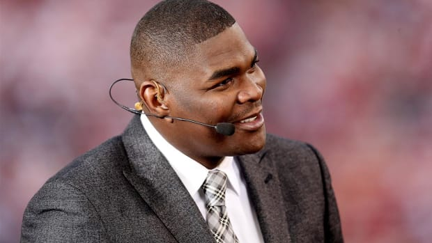 Sunday NFL Countdown 's Keyshawn Johnson not returning to ESPN - IMAGE