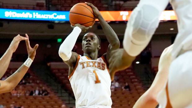 Texas Andrew Jones basketball