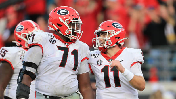 Georgia Bulldogs bowl projections college football