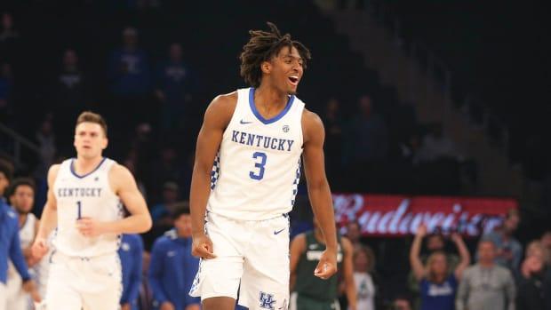 Kentucky basketball Tyrese Maxey Champions Classic