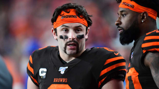 "Baker Mayfield shaved his handlebar mustache because he ""didn't deserve it."""