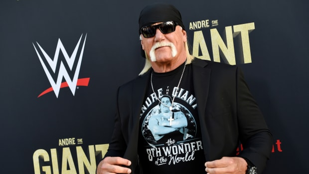 WWE's Hulk Hogan at the Andre the Giant documentary premiere