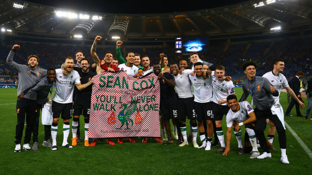 Sean Cox was beaten by Roma supporters in 2018
