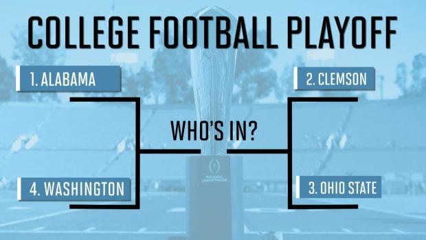 Alabama, Clemson, Ohio State, Washington get playoff nods - IMAGE