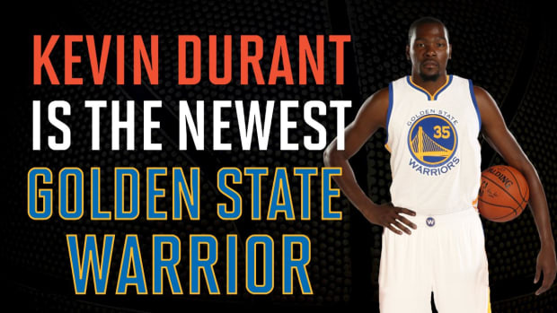 Kevin Durant shakes up free agency with move to Warriors IMAGE