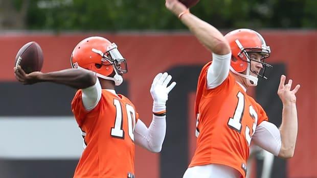 The MMQB Spotlight: Cleveland Browns QB's IMAGE