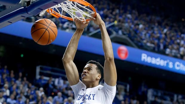 Skal Labissiere declares for NBA draft, plans to sign with agent--IMAGE