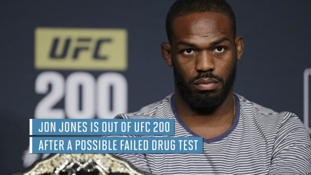 Jon Jones out of UFC 200 after possible doping violation - IMAGE