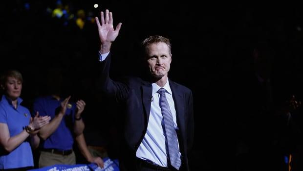 Warriors' Steve Kerr named NBA Coach of the Year - IMAGE