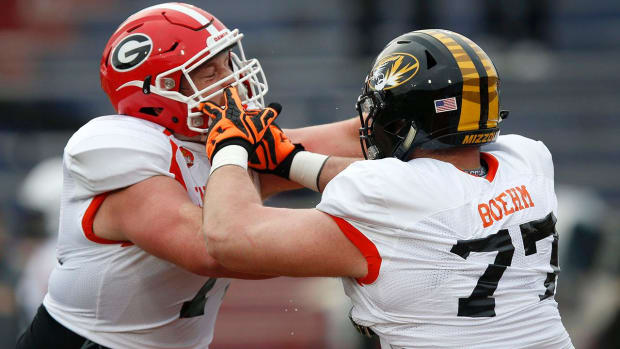 Day 3 of Senior Bowl: Offensive linemen IMAGE