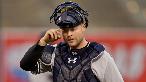 Yankees trade catcher Brian McCann to Astros IMAGE