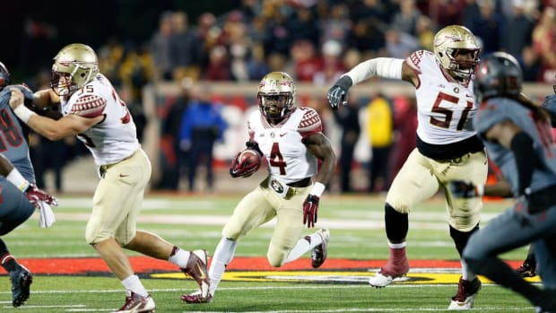 FSU's Dalvin Cook is fast moving, soft-spoken—and arguably the most talented running back in the nation
