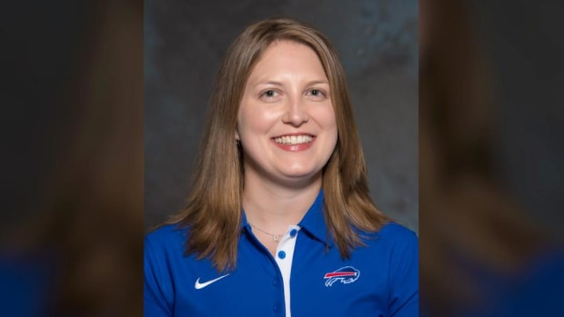 Bills hire Kathryn Smith as NFL's first full-time female assistant--IMAGE