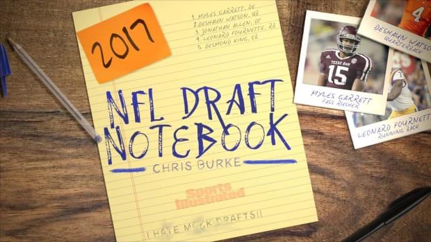 2017 NFL Draft Notebook: October 28th IMAGE