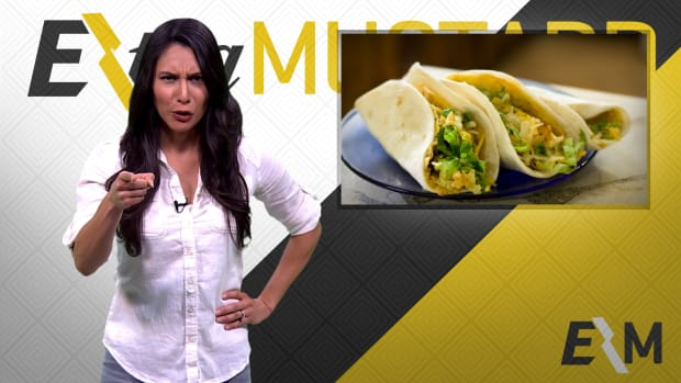 Mustard Minute: Lakers won, but fans only wanted free tacos IMG
