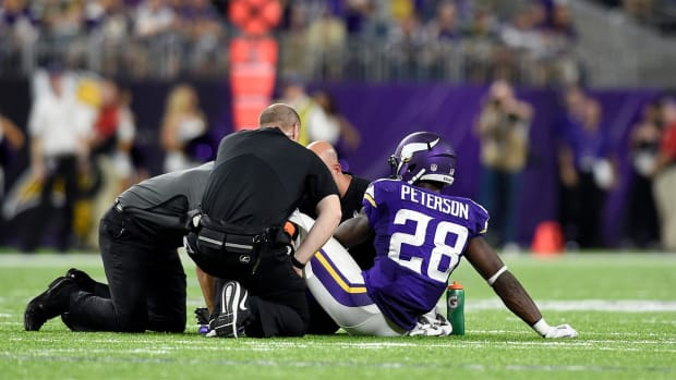 NFL injury update: Adrian Peterson to have surgery, other RB's hurt -- IMAGE