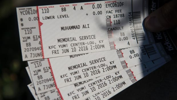 Tickets for Muhammad Ali memorial service sell out quickly IMAGE