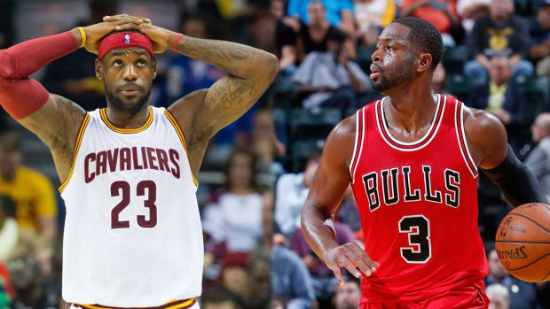 LeBron James: Cavaliers wanted to sign Dwyane Wade but couldn't afford him - IMAGE