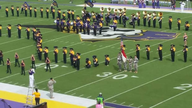 ESPN affiliate won't air East Carolina football game over band's protest - IMAGE