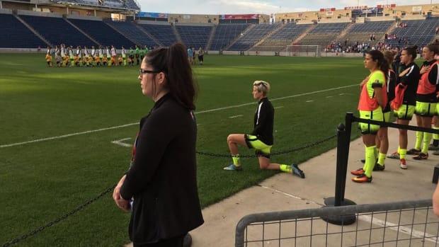 Washington Spirit owner prevents Megan Rapinoe's protest IMAGE