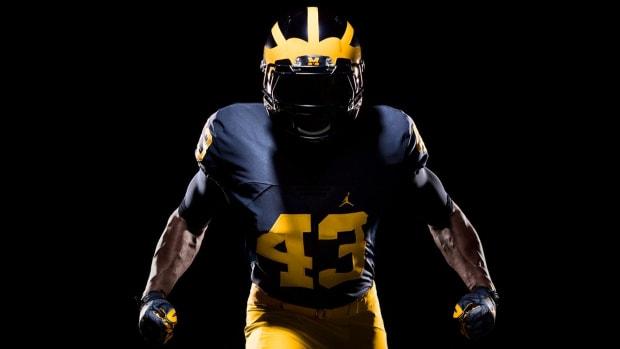 Michigan unveils new Nike Jordan Brand football uniforms - IMAGE