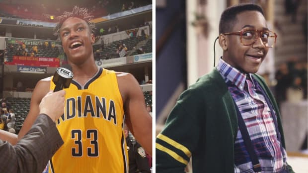 Pacers' Myles Turner checks into hotels under the alias 'Steve Urkel' -- IMAGE