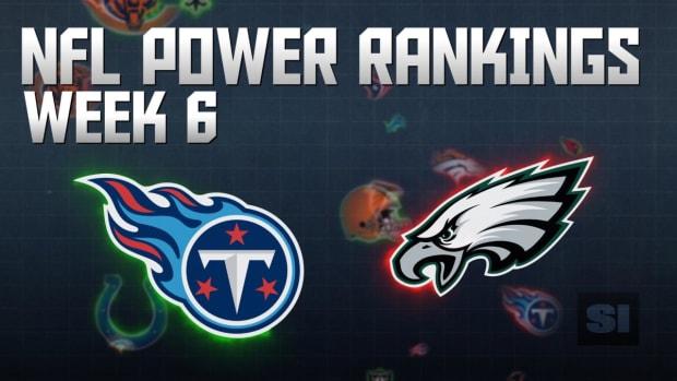 NFL Power Rankings: Week 6 IMAGE