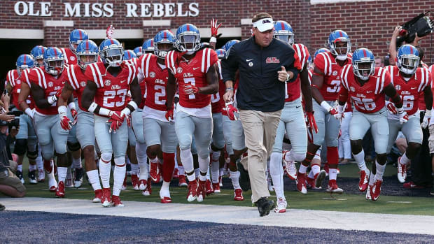 Report: NCAA charges University of Mississippi with rules violations -- IMAGE