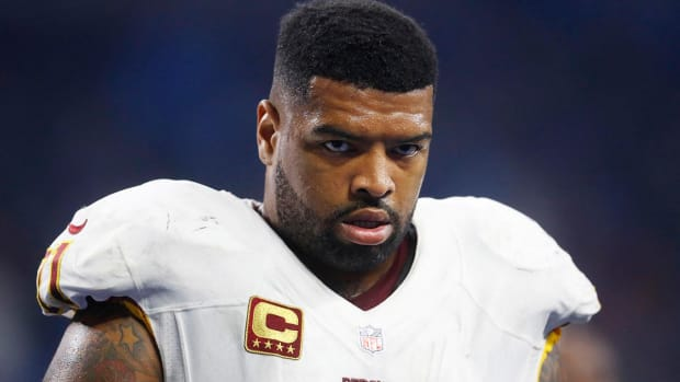 Redskins' Trent Williams suspended four games for substance abuse violation - IMAGE
