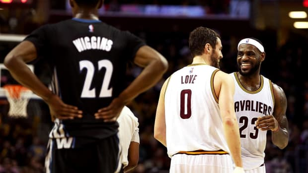 LeBron James 'happy' with Kevin Love-Andrew Wiggins trade -- IMAGE
