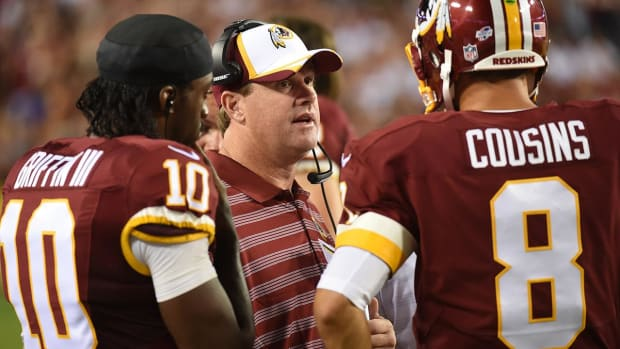 Kirk Cousins says Robert Griffin III was a 'great teammate' -- IMAGE