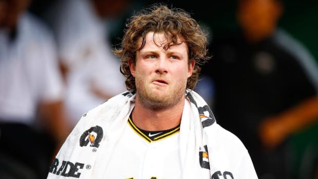 Pittsburgh Pirates P Gerrit Cole unhappy with salary - IMAGE