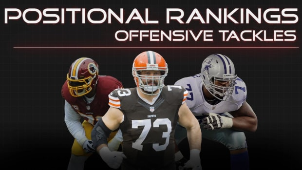 Positional Rankings: Offensive Tackles IMAGE