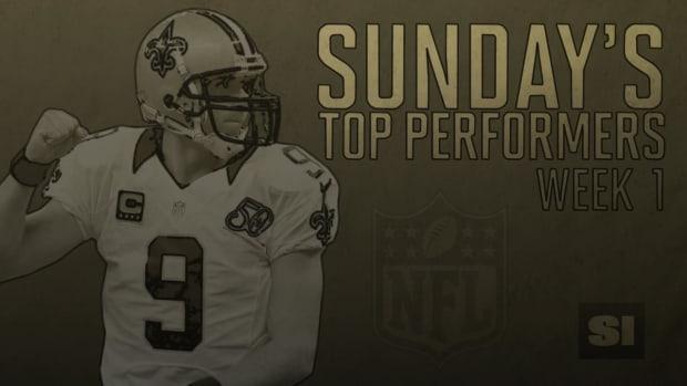 NFL's Top Performers: Week 1 IMAGE