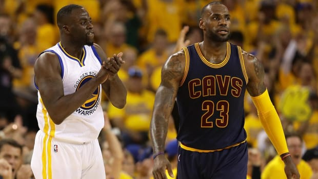 Draymond Green says he has no 'beef' with LeBron James IMAGE