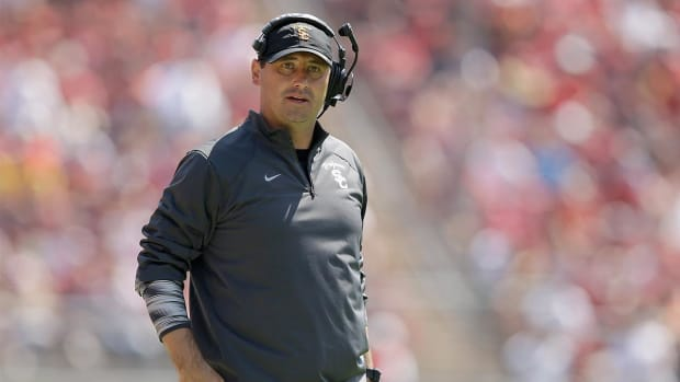 Alabama hires former USC coach Steve Sarkisian as offensive analyst - IMAGE
