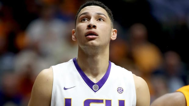 76ers leaning toward drafting LSU's Ben Simmons with No. 1 pick - IMAGE