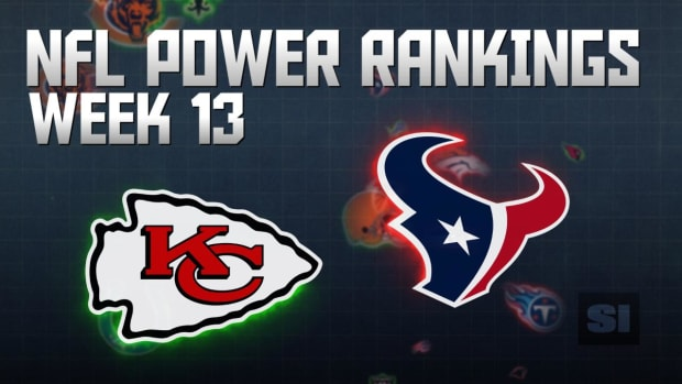 NFL Power Rankings: Week 13 IMAGE