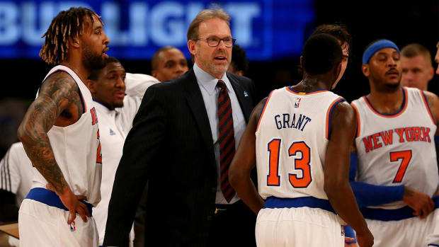 Report: Phil Jackson pushing Knicks to keep Kurt Rambis as head coach -- IMAGE