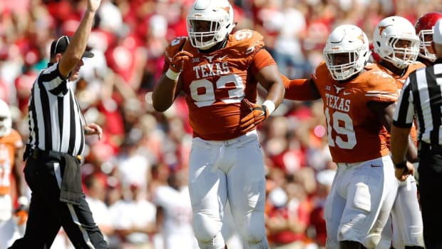The Longhorns' old soul: Texas DT Paul Boyette talks marriage, his pit bull puppy and what's next in Austin