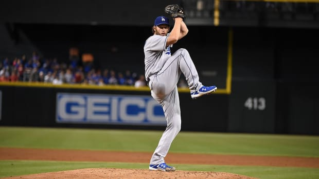 Dodgers place Clayton Kershaw on 15-day DL -- IMAGE
