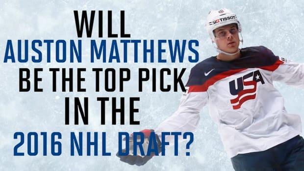 Auston Matthews could be the next big thing in the NHL -- IMAGE
