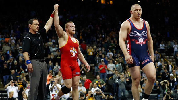 Ohio State heavyweight wrestler Kyle Snyder looking to add Olympic gold to his illustrious résumé