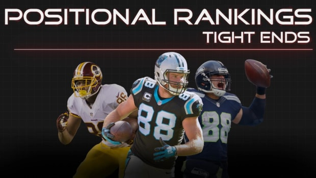 Positional Rankings: Tight Ends IMAGE