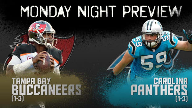 Monday Night preview: Buccaneers vs. Panthers IMAGE