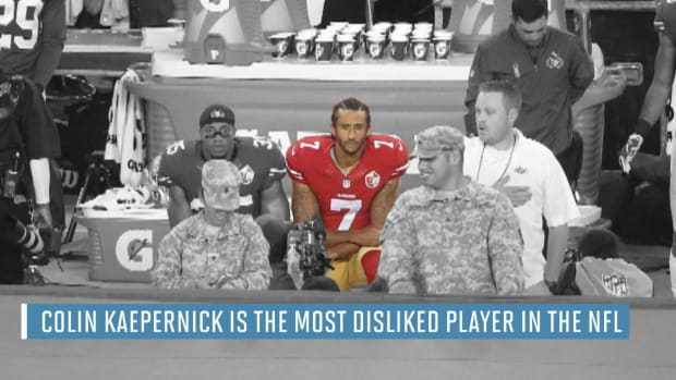 Colin Kaepernick voted most disliked player in NFL - IMAGE