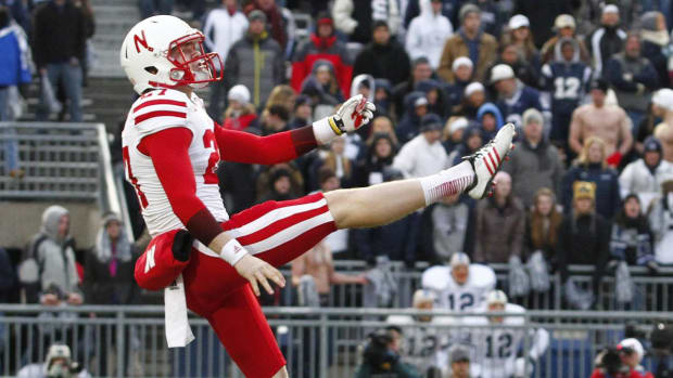 Sam Foltz's family targeted by burglars during Nebraska game--IMAGE